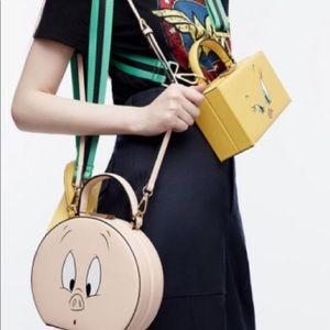 Zara Round Looney Tunes Minaudière Bag
